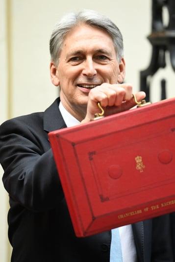 Hammond Autumn Budget Schools red box